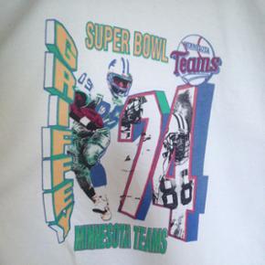 Minnesota teams  Vintage langarm T-shirt.str.176 passer til 16 årig Ubrugt!