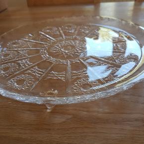 Krystal fad  30cm  Nyt  Porto 53kr