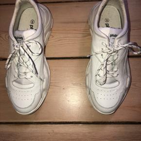 Skoene fejler ikke noget, de er kun brugt 2 gange.