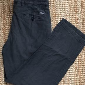 Vintage HUGO BOSS bukser i bomuld Mørk blågrå farve Str. L
