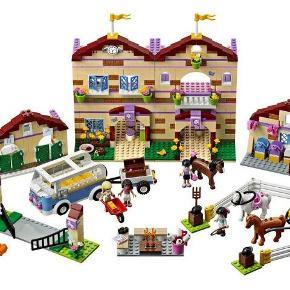 Lego Friends sommerrideskole 3185  Med samlevejledninger.