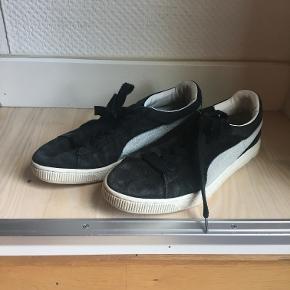 Sorte sneakers fra Puma. Str 40. 30kr. Ishøj