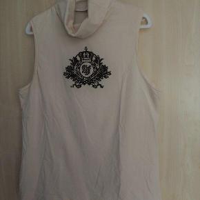 Airfield T-shirt 44 creme, ærmeløs, turtleneck, bom/elastane
