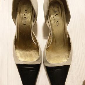 Gucci vintage slingback sko