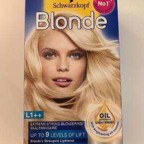 Schwarzkopf blonde L1++ Hårfarve
