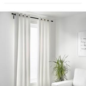2 stk. ikea gardiner. MERETE.   2 x 145x200 cm   Bleget hvid    Sælges samlet til 80 kr.