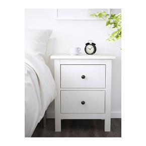 Sælger 2 stk. natborde, fra IKEA  54x66 cm Fin stand, skriv ydere for personlige billeder   Nypris: 600 kr. pr. stk.