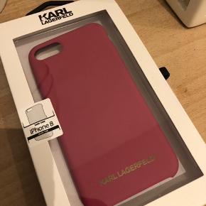Lækkert cover fra Karl Lagerfeld  Brugt 2 dage  Samme stil og kvalitet som et apple cover  Fejler intet  Passer iphone 6- 7 - 8  Fast pris