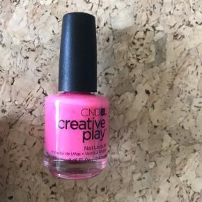 CND creative play neglelak sælges da jeg ikke får dem brugt, da jeg er gravid. Købt lige inden. Sælges billigt og hurtigt grundet flytning.