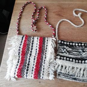 Håndlavede tasker af 100 % uld.