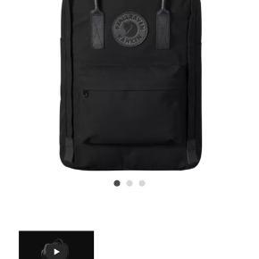 Klassiske fjällräven rygsæk med ekstra rum bagtil hvor man kan opbevare sin computer. Læderremme, polstrede og justerbare skulderremme.  Brugt få gange