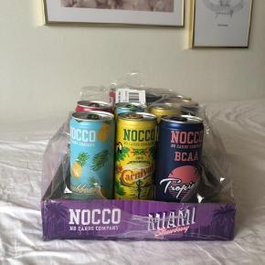 Sælger 11 stk. Nocco sportsdrikke i forskellige smagsvarianter. Udløber 20.02.20.  15 DKK/stk. eller 150 kr. for alle :)