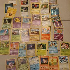 Pokemon kort, sælges samlet for 30kr
