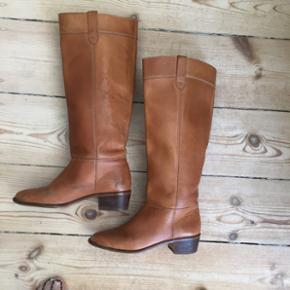 Håndlavet vintage støvler - str. 38