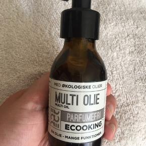 Ecooking multi olie. 100 ml. Brugt en enkelt gang! Hentes ved Ryparken