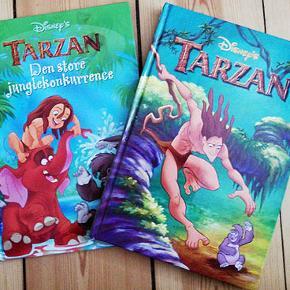 To bøger fra Walt Disney  Tarzan Tarzan og den store junglekonkurrence Brugt få gange og i fin stand Porto 37 kr