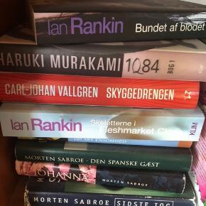 Bogen fra Haruki er væk - resten sælges samlet for 225 afhentet i Charlottenlund