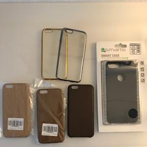 Lidt blandet : iPhone 6/6s covers, iPhone 7+cover, applewatch remme og ur cover.  BYD endelig.