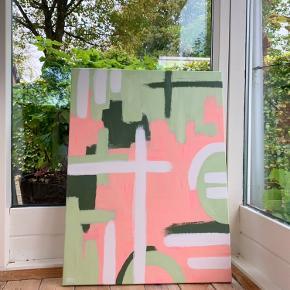 Maleri malet af mig😊 Det måler 60x80cm