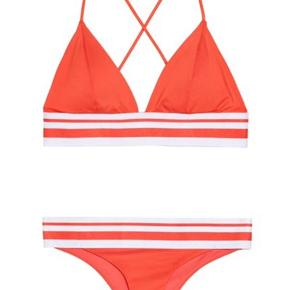 Orange/rød bikini fra H&M Bytter gerne  Byd