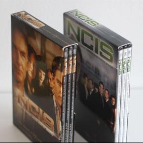 NCIS dvd pakker.  NCIS sæson 1 og 4.  30 pr. Boks. 50 for begge