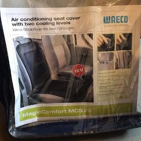 Kølingssæde til bilen - bruges gennem cigaretstikket.   Fejler intet .