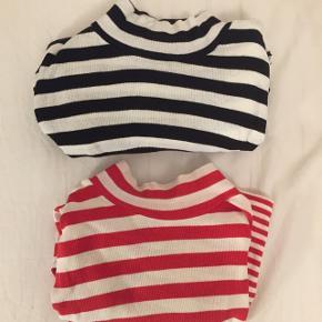 Sælger denne sort/hvidstribede klassiske Mads Nørgaard bluse med høj krave i str L. Kan også passes af en M. 👯♀️  Sælger den også i rød ☎️  Kig også gerne mine andre annoncer igennem!