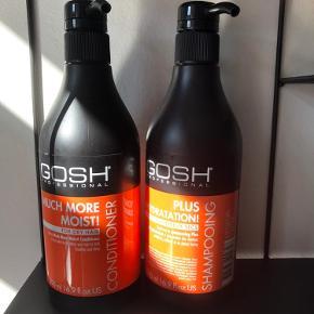 Store shampoo og conditioner  Nye og ubrugte