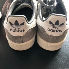 Adidas campus grå ruskind str 36 2/3 Fejler intet