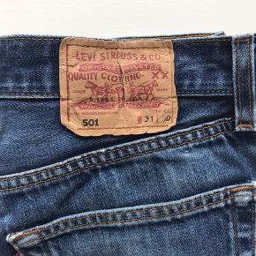 Vintage Levis 501 Mørkeblå  Str 31 / 30