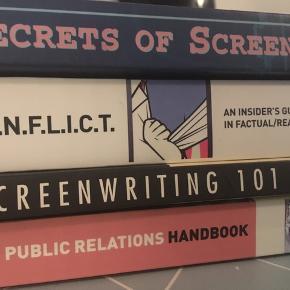 Bøger om manuskriptskrivning, pr