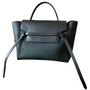 Classic Celine belt bag, size mini. Amazon green, sold with dustbag. 28x23x17 cm