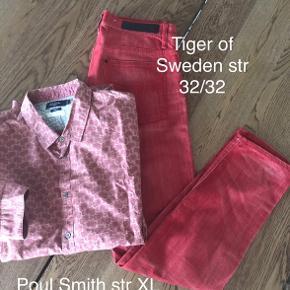 250kr pp Per skjorte ( Burberry og Poul Smith)