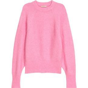 Pink Mohair strik fra H&MBrugt én enkelt gang! Str. S