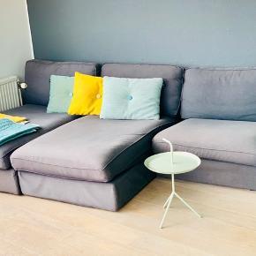 Lækker modul sofa fra IKEA. Kan sammensættes som man selv ønsker.  Trænger til nyt betræk, hvilket kan købes i mange farver.  Rigtig god siddekomfort!  Farve:Koksgrå
