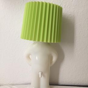 Mr p lampe med grøn skærm