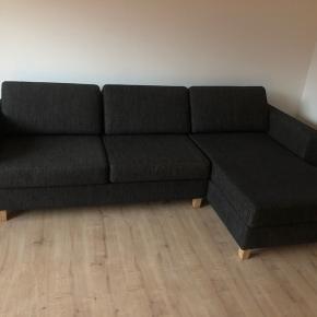 Ilva sofa , 275 cm bred og chaiselong 150 cm