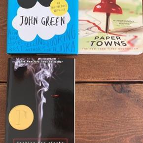 Bøger på engelsk af forfatteren John Green  50 kr pr stk