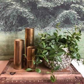 Cool gamle granathylstre 👌🏻✨✨ Brug dem fx som vaser eller fyrfadsstager 🤗 Samlet pris 200,- kr.
