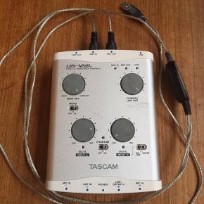 Lydkort fra TASCAM. Købt i 2012, men kun brugt et par gange.