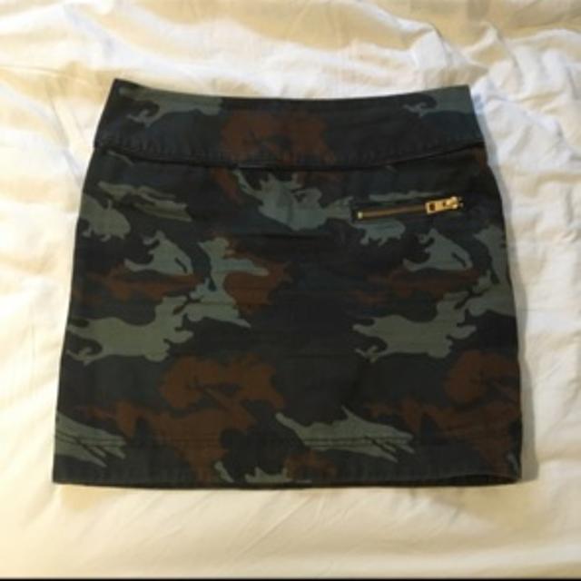 Slå om nederdel, str. 36, Neo Noir, Camouflage
