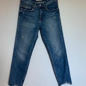 Skinny jeans med vintage look. Ankel længde, str 26 (s/36). Blød kvalitet. Bytter ikke.
