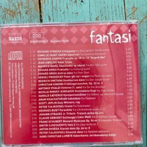 Fantasi, leg og hvile klassisk musik cd'er   -fast pris -køb 4 annoncer og den billigste er gratis - kan afhentes på Mimersgade 111 - sender gerne hvis du betaler Porto - mødes ikke andre steder  - bytter ikke