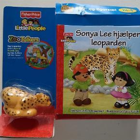 Varetype: fisher price Størrelse: - Farve: -  Fisher Price little people zootalkers Sonya Lee hjælper leoparden *NY* Bog med legetøj Helt nyt i ubrudt emballage Nypris: 150,- kr. Pris: 90 kr. eller kom med et bud  Porto:  60 kr. som brev med PostNord  36 kr. som pakke med Coolrunner  39 kr. som pakke med G-porto (GLS) 45 kr. som pakke med G-porto (PostNord)
