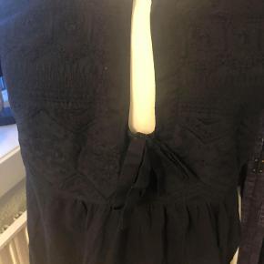 odd molly tunika bluse sort som ny str 4