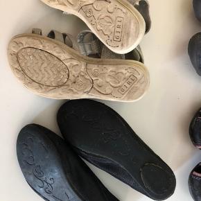 Sølv sandaler