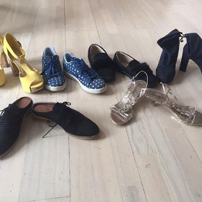 Forskellige sko -str 39 Støvle -str 40 Skriv for pris