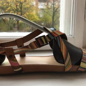 Mønstrede Paul Smith sandaler! Skriv for billeder!😊 Kom med et bud!💞