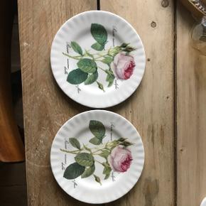 Redoute Roses Tallerken med Roser 20cmNypris 159kr stk Nu 100kr for to stk Porto 25kr