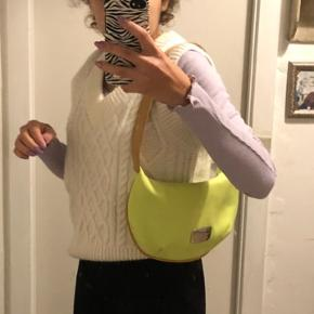 Neon gul skulder taske